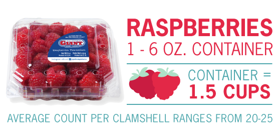 raspberry measurements