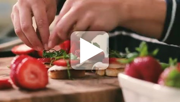 Berry Bruschetta Board How To Video
