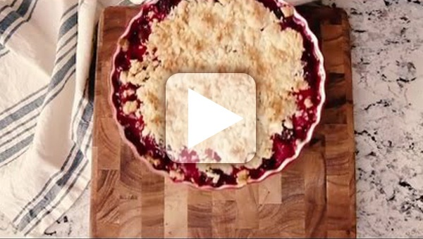 Blackberry and Raspberry Cobbler How To Video thumbnail
